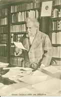 Giosuè Carducci Nella Sua Biblioteca, Poeta E Scrittore, Riproduzione C31, Reproduction - Scrittori