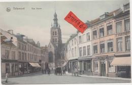 Tienen, Tirlemont, De Nieuwstraat, Prachtig Ingekleurde Originele Kaart, COLLECTORS!!!! - Tienen