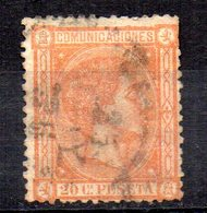 Sello Nº 165  España - Usados