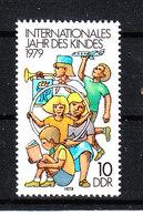 Germania Est  - 1979. Bimbo Aeromodellista, Trombettista, Sudente. Model Aircraft Child, Trumpeter, Student. MNH - Giochi