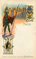 MENU(BENEDICTINE) LANGEAIS - Menus