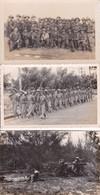 3 Cartes Photo De L'armée Vietnamienne 1950 SUD VIETNAM Indochine Cochinchine Militaria - Vietnam
