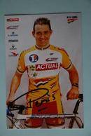 CYCLISME: CYCLISTE : FRANCOIS PERVIS - Ciclismo