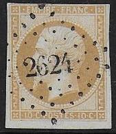 Aube - P.C. 2624 De RAMERUPT - Marcophilie (Timbres Détachés)