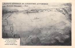 Champ D'aviation De REIMS-BETHENY - Aérodrome - Banque Générale De L'Industrie Automobile - Paris - Reims