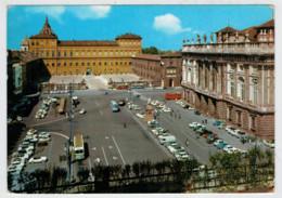 TORINO  PIAZZA  CASTELLO  E  PALAZZO  REALE    (VIAGGIATA) - Palazzo Reale