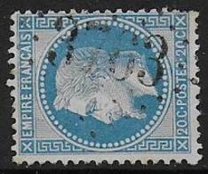 Haute Vienne - G.C. 3763 De ST MATHIEU - Marcophilie (Timbres Détachés)