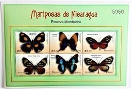 Nicaragua 2000**Mi.4230-35 Butterflies Of Nicaragua , MNH [11;202] - Schmetterlinge