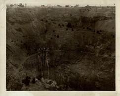 MINES DE DIAMANTES DIAMONDS KIMBERLEY SOUTH AFRICA  MINE MINA MINIERE BERGBAU  21*17CM Fonds Victor FORBIN 1864-1947 - Profesiones