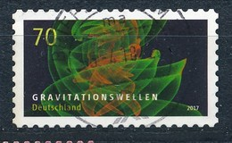 BRD Mi. 3256 Gest. Gravitationswellen Rundstempel - Physik