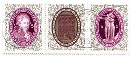 AUSTRIA 1991 Mozart Bicentenary Singles Ex Block, Used.  Michel 2021-22 - 1945-.... 2. Republik