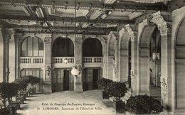 LIMOGES INTERIEUR DE L'HOTEL DE VILLE - Limoges
