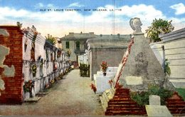 ETATS-UNIS LOUISIANA  OLD ST. LOUIS CEMETERY  NEW ORLEANS - New Orleans