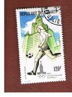 GIBUTI (DJIBUTI) -  SG 786  -    1979 OLYMPIC GAMES: FOOTBALL   - USED ° - Gibuti (1977-...)