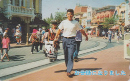 Télécarte Japon / 110-011 - DISNEY - DISNEYLAND TOKYO - Shopping - Japan Phonecard Telefonkarte Rel. - Disney