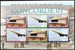 Antigua & Barbuda 2007**Mi.4514-19 Aircraft , Concorde , MNH [13;156] ] - Flugzeuge