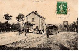 Licques: La Gare (tram à Vapeur) - France