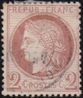 France  .   Yvert     .    51   .     O      .     Oblitéré .  /   .   Cancelled - 1871-1875 Cérès
