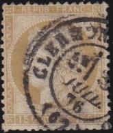 France  .   Yvert     .    55      .     O      .     Oblitéré .  /   .   Cancelled - 1871-1875 Cérès