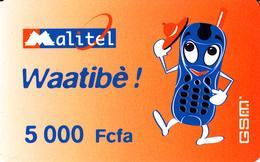 Prépayée Mali Waatibè Malitel 2004 - 5000 FCFA - Mali