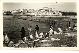 PORTUGAL  COIMBRA LAVADEIRAS DO RIO MONDEGO   FORMAT CPA - Coimbra
