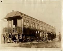 TRAINS TRENES RAILWAY CHEMIN DE FER  MINE MINA MINIERE BERGBAU  21*17CM Fonds Victor FORBIN 1864-1947 - Trenes