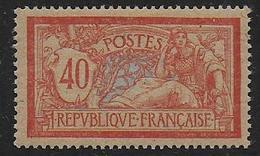 Merson N° 119d **  Papier Gc - Cote : 75 € - 1900-27 Merson