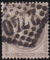 France  .   Yvert     .    56      .     O      .     Oblitéré .  /   .   Cancelled - 1871-1875 Cérès