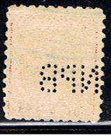 US 1708 // YVERT 200A  (PERFORÉ:PERFIN:TNB) // 1916-19 - Perforados