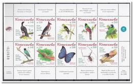 Venezuela 1998, Postfris MNH, Birds, Butterfly, Insects - Venezuela