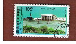 GIBUTI (DJIBUTI) -  SG 983  -    1986 PEOPLE' S PALACE  - USED ° - Gibuti (1977-...)