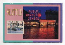 USA -- SEATTLE --1986-- Public Market Center  (cochon) - Seattle