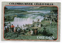 USA -- OR --Columbia River -- Celilo Falls   ( Très Animée ) - Etats-Unis