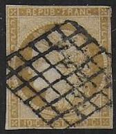 Cérès  N° 1   - Cote : 355 € - 1849-1850 Cérès