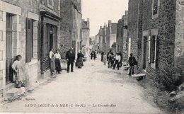 SAINT JACUT DE LA MER ( 22 ) - La Grande Rue . - Saint-Jacut-de-la-Mer
