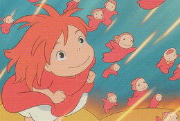 Postcard - Studio Ghibli - Ponyo - Dreaming Its Great - New - Unclassified