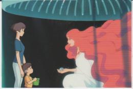 Postcard - Studio Ghibli - Ponyo -Visiting A Fortune Teller - New - Unclassified