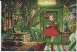 Postcard - Studio Ghibli - The Secret World Of Arrietty - I Love Dancing - New - Unclassified