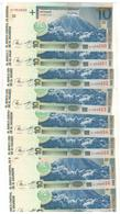 El Salvador 10 Colones 1999, UNC, COSEC. NUMBERS. (11.30 Usd X1) - El Salvador