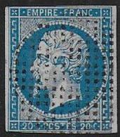 Napoléon  N° 14 Oblitéré Cercle De Points - 1849-1876: Classic Period