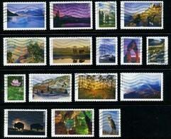 Etats-Unis / United States (Scott No.5080a-p - National Park Sercice 100e) (o) Set - Used Stamps