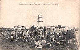 DJ DJIBOUTI - 4 - Les Quais - Animée - Belle - Gibuti