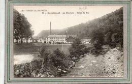 CPA - CORNIMONT (88) - Aspect De La Moselotte Et De L'Usine Textile Du Bas Dans Les Années 20 - Cornimont