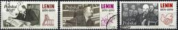 Poland 1970 - Lenin ( Mi 1996/98 - YT 1846/48 ) Complete Issue - Oblitérés