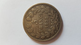 5 Francs Louis Philippe 1 - Coins & Banknotes