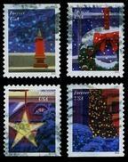 Etats-Unis / United States (Scott No.5145-48 - Christmas 2016) (o) P3 - Used Stamps