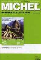 MICHEL Briefmarken Rundschau 8/2019-plus Neu 6€ New Stamps World Catalogue/magacine Of Germany ISBN 978-3-95402-600 - Tedesco