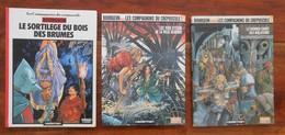 BOURGEON Les Compagnons Du Crépuscule La Trilogie Complète - Books, Magazines, Comics