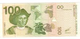El Salvador 100 Colones 1998, UNC. Rare. - El Salvador
