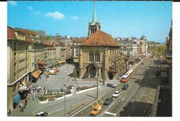 Cpsm Lausanne - Place St-François (Editions Helio). - VD Vaud